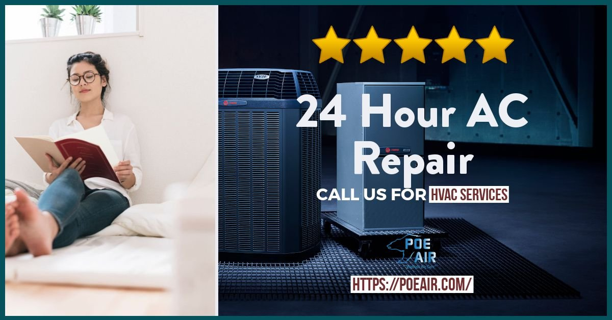 24 Hour AC Repair - 7 Reasons Why?