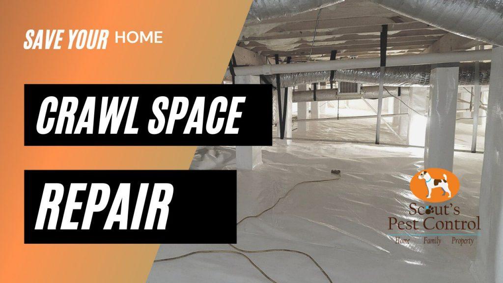 crawl space repair greenville sc
