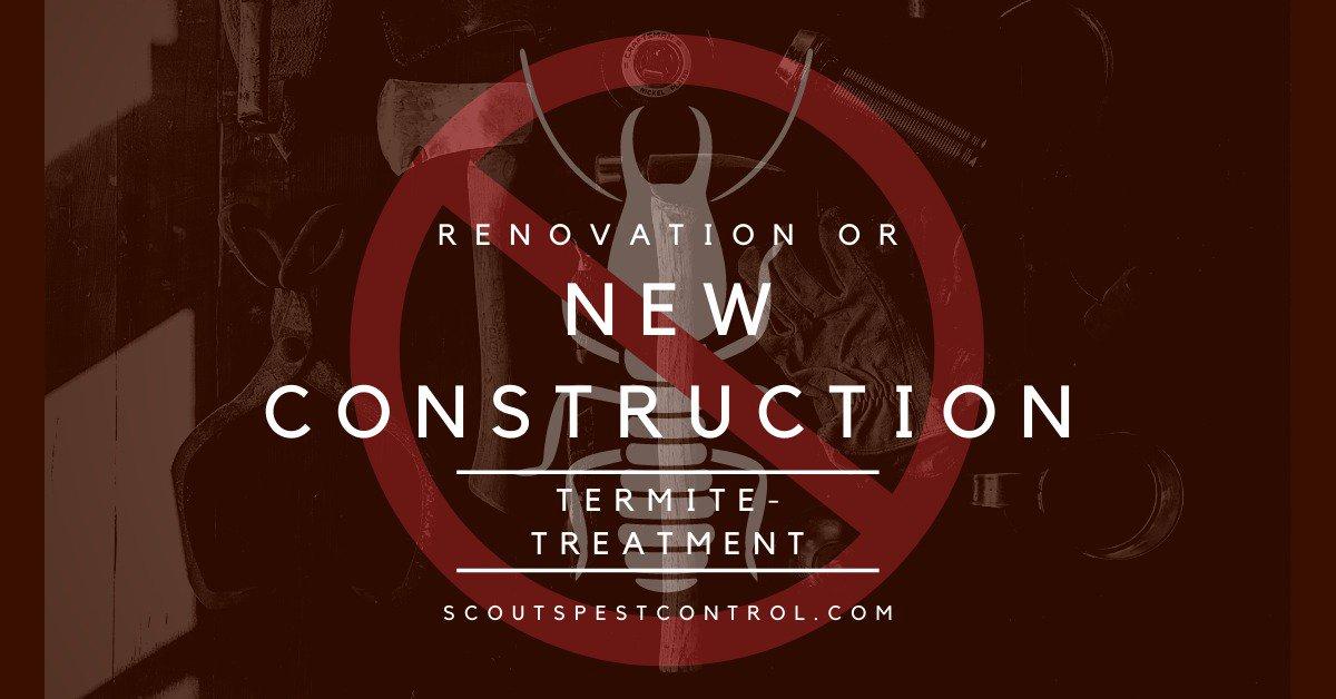 new construction termite treatment